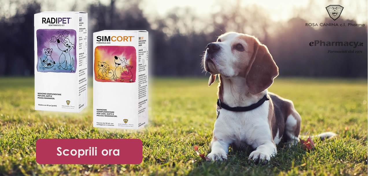 Scopri i prodotti veterinari Rosa Canina